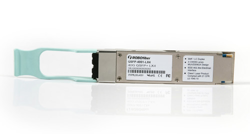 QSFP+ 40G module LX4 for SMF 2Km reach or MMF OM3 150m reach with dual LC connectors