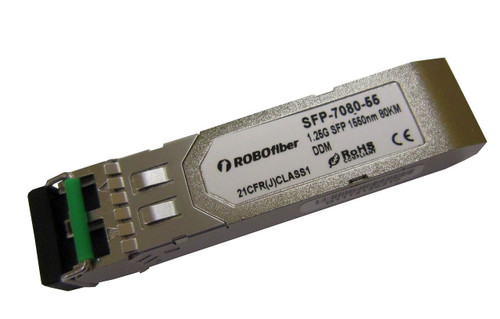 1000Base-ZX 80Km single-mode Gigabit SFP (SFP-7080-55)