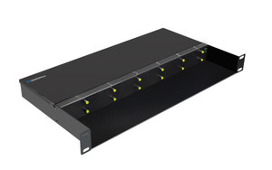 LFC-CH12-DD - 12 slot fiber chassis with two DC48 power supplies and fans for LFC series