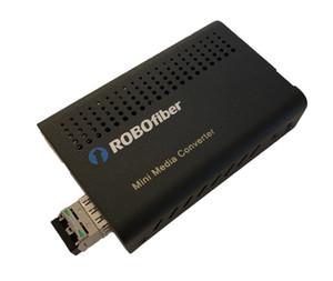 LFC-100-SFP-SM120 Fast Ethernet fiber media converter to duplex singlemode fiber, 120Km reach, 1550nm, LC conectors, with DIP sw settings