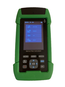 OTDR-3201 - Optical Time Domain Reflectometer - includes Power Meter, Laser Source and VFL 1mW in one device with internal storage memory and USB connectivity