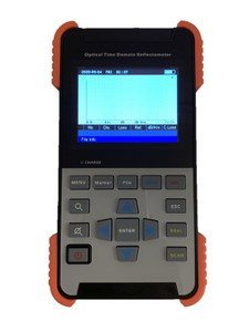 "OTDR-3501 - Optical Time Domain Reflectometer - includes VFL 1mW, 3.5"" LCD TFT, internal storage memory and USB connectivity"