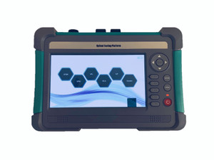 OTDR-7001 - Optical Time Domain Reflectometer - includes Power Meter and VFL 1mW in one device, Ethernet, Bluetooth and USB connectivity