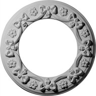Ceiling Medallion - CM12RI - Ribbon with Bow