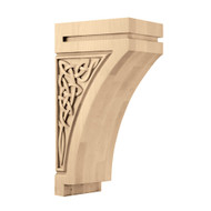 "CRV7018MA_14"" Large Gaelic Corbel Maple"
