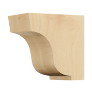 "CRV7048MA_4 1/2"" Mall Simplicity Corbel Maple"