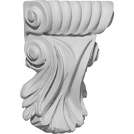 COR03X01X05SC - Scroll Leaf Corbel