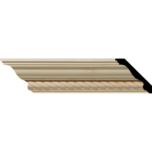 MLD02X02X03ADAL - Wood Crown Molding, Alder