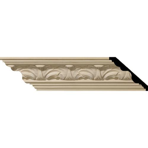 MLD03X03X05ACAL - Wood Crown Molding, Alder