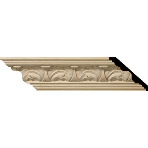 MLD04X05X06ACAL - Wood Crown Molding, Alder