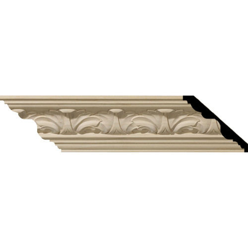 MLD03X03X05ACCH - Wood Crown Molding, Cherry