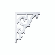 Fypon BKT10X12 - 10-1/4X12-3/4X1 Smooth Bracket