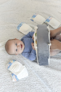 Snuggwugg baby pillow is perfect for diaper changes makes them fun and easy