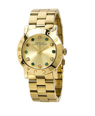 Marc By Marc Women's MBM3215 Gold Stainless-Steel Quartz Watch with Gold Dial...