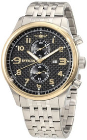 Mens Watch Invicta 10290 Specialty Stainless Steel Specialty Carbon Fiber Dial G