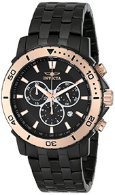 Invicta Men's 6791 Pro Diver Collection Black Ion-Plated Stainless Steel an...