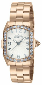 Invicta Lupah Crystal Rose Gold-tone Ladies Watch 14129 [Watch] Invicta