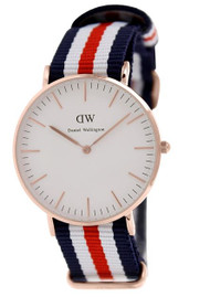 Daniel Wellington Women's 0502DW Classic Canterbury Analog Display Quartz Multi-Color Watch