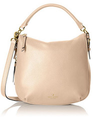 kate spade new york Cobble Hill Small Ella Shoulder Bag, Pressed Powder, One Size  PXRU5514-196