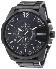 Diesel Men's DZ4283 Diesel Chief Series Analog Display Analog Quartz Black Watch