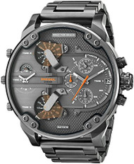 Diesel Men's DZ7315 The Daddies Series Analog Display Analog Quartz Grey Watch