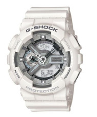 Casio Men's 'G SHOCK' Quartz Resin Casual Watch, Color:White (Model: GA-700-7ACR)