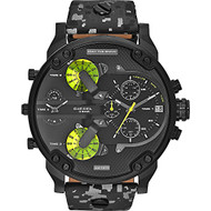 Diesel Men's Mr. Daddy  DZ7312 2.0 Black Ion-Plated Stainless Steel Bracelet watch
