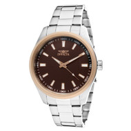 Invicta Men's 12827 Specialty Brown Dial Watch [Watch] Invicta