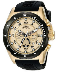Invicta Men's 20306 Speedway 18k Gold Ion-Plated Stainless Steel Watch …