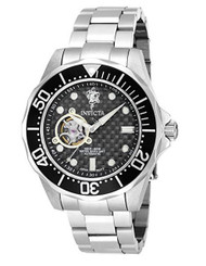 Invicta Men's 'Sea Base' Automatic Stainless Steel Casual Watch, Color:Silver-To