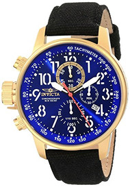 Invicta Men's 1516 I Force Collection 18k Gold Ion-Plated Stainless Steel and...