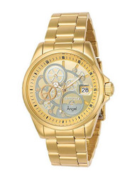 Invicta Women's 'Angel' Quartz and Stainless Steel Casual Watch, Color:Gold-Toned (Model: 23568) …