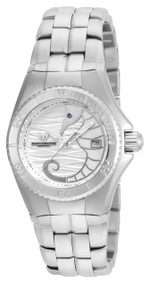 89d6977f42 TechnoMarine Cruise Dream Silver Dial Ladies Watch 115283