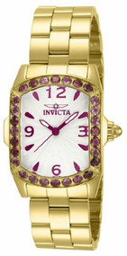 Invicta Lupah Purple Crystal Gold-tone Ladies Watch 14133 [Watch] Invicta
