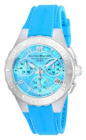 TechnoMarine Cruise Medusa Chronograph Blue Dial Ladies Watch 115084