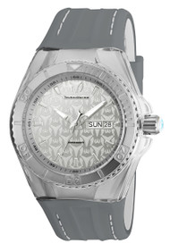 Technomarine Men's TM-115153 Cruise Monogram Quartz Silver Dial Watch