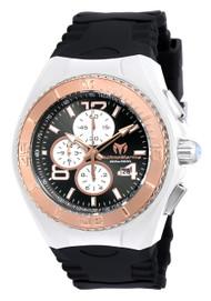 TechnoMarine Men's TM-115303 Cruise JellyFish Quartz Multifunction Black Dial Watch
