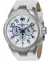 TechnoMarine Men's TM-715021 Sea Dream Quartz  White Dial Watch