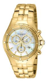 Technomarine Women's TM-715016 Sea Pearl Quartz White Dial Watch