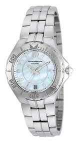 Technomarine Women's TM-715012 Sea Pearl Quartz 3 Hand White Dial Watch