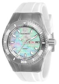 TechnoMarine Women's TM-115322 Cruise Monogram Quartz 3 Hand White Dial Watch