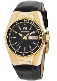 Technomarine Women's TM-115388 Cruise Quartz Black Dial Watch