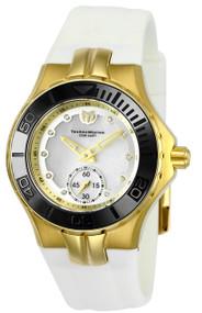 TechnoMarine Women's TM-115398 Cruise Ceramic Quartz 3 Hand White Dial Watch