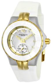 TechnoMarine Women's TM-115399 Cruise Ceramic Quartz 3 Hand White Dial Watch