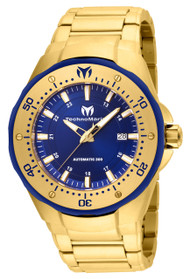 Technomarine Men's TM-215096 Manta Automatic Blue Dial Watch