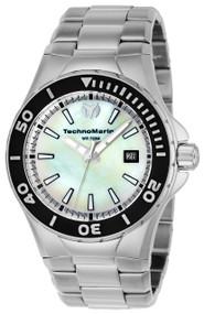 Technomarine Men's TM-216004 Manta Quartz White Dial Watch