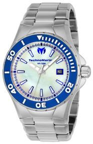 Technomarine Men's TM-216005 Manta Quartz White Dial Watch