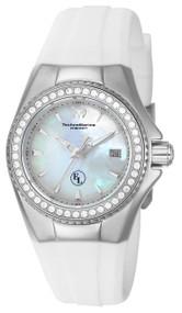TechnoMarine Women's TM-416009 Eva Longoria Quartz 3 Hand White Dial Watch