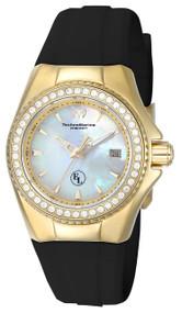 TechnoMarine Women's TM-416010 Eva Longoria Quartz 3 Hand White Dial Watch