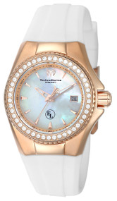 TechnoMarine Women's TM-416011 Eva Longoria Quartz 3 Hand White Dial Watch